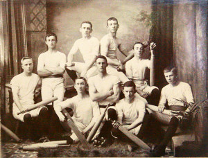 St Pauls Young Mens Society Indian Club Swinging Team, Ipswich, 1890s,