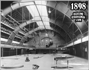 Gymnasium at Ohio State University Armory.