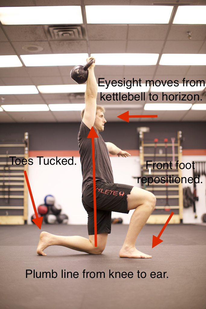Half-Kneeling Position