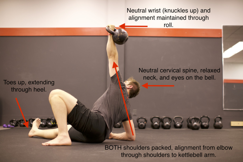 Step 2 of the TGU | The Press to Elbow