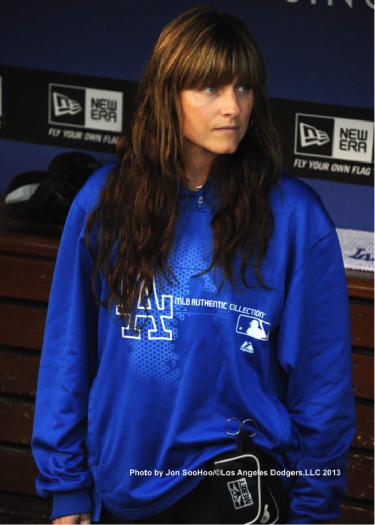 Sue Falsone - Head Athletic Trainer for LA Dodgers